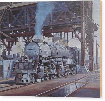 Union Pacific Big Boy Wood Print