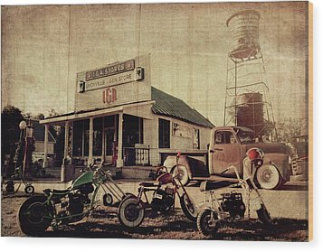 Wood Print featuring the photograph Unionville Genral Store by Joel Witmeyer