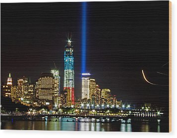 United Remembrance  Wood Print by Michael Murphy