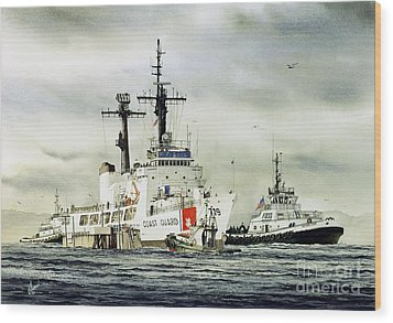 United States Coast Guard Boutwell Wood Print