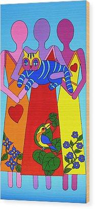 Unity 8 Wood Print by Stephanie Moore
