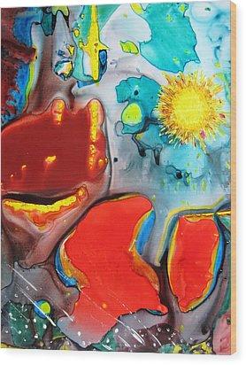 Universe Four Wood Print by David Raderstorf
