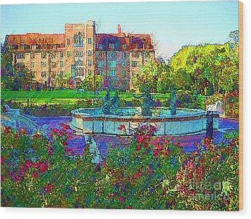 University Of Florida Wood Print