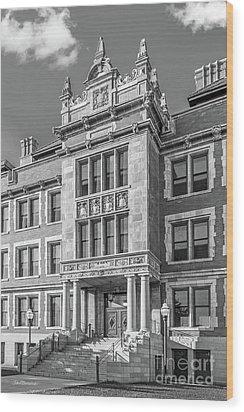University Of Minnesota Folwell Hall Wood Print
