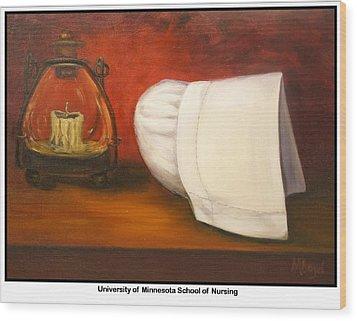 University Of Minnesota School Of Nursing Wood Print by Marlyn Boyd