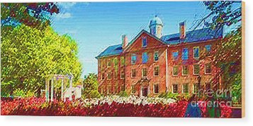 University Of North Carolina  Wood Print