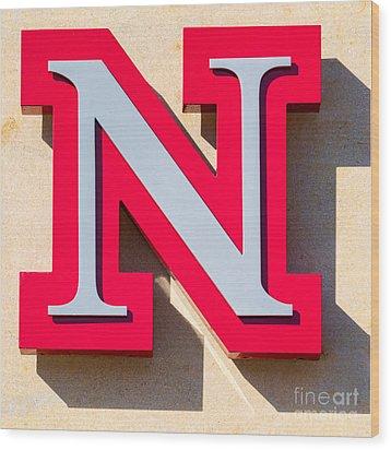 UNL Wood Print