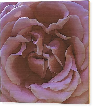 Wood Print featuring the photograph Unpicked Rose by Paula Porterfield-Izzo