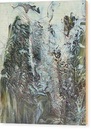 Unrest At Dawn Wood Print by Greg Gierlowski