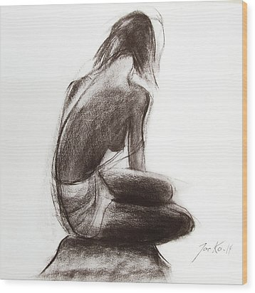 Until The Sea Shall Free Them Wood Print by Jarko Aka Lui Grande