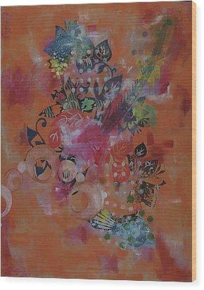 Untitled 010 Wood Print by Gloria Von Sperling