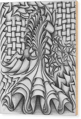 Untitled 43 Wood Print