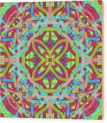 Riddle Soup -pattern- Wood Print