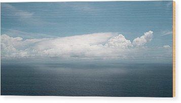 Untitled Cloud Wood Print