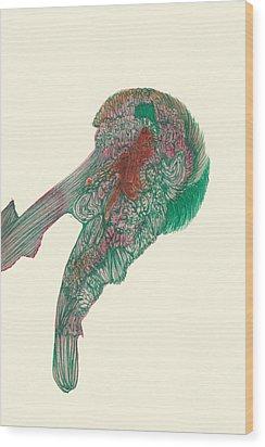 Untitled - #ss14dw047 Wood Print by Satomi Sugimoto