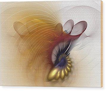 Untitled Study No.601 Wood Print by NirvanaBlues
