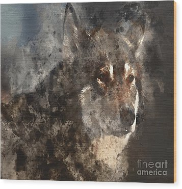 Unwavering Loyalty Wood Print by Elaine Ossipov