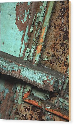 Urban Abstract Wood Print by Joanne Coyle