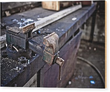 Urban Decay  The Vice Wood Print by Edward Myers