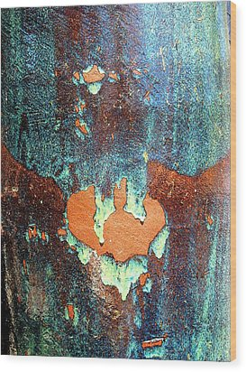 Urnside Abstract Wood Print