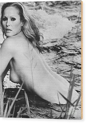 Ursula Andress (b. 1936) Wood Print by Granger
