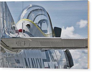 U.s. Navy T-28 Trojan  Wood Print