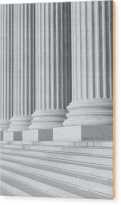 Us Supreme Court Building Iv Wood Print