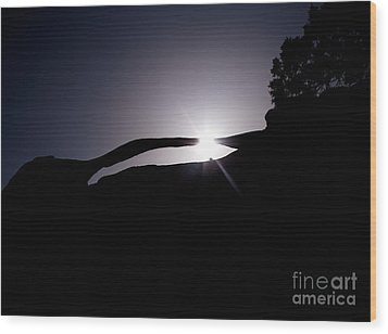 Utah - Landscape Arch Wood Print