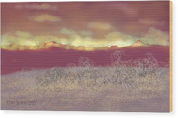 Utah Wood Print by Kerry Beverly