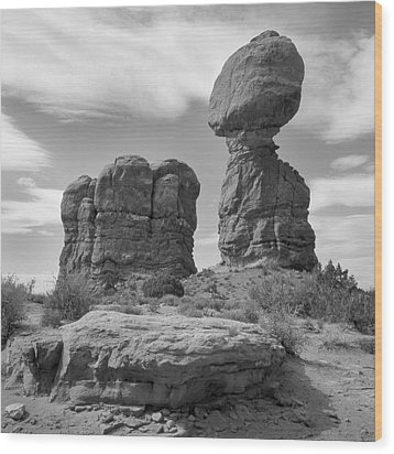 Utah Outback 31 Wood Print by Mike McGlothlen