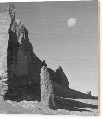 Utah Outback 32 Wood Print by Mike McGlothlen