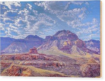 Utah Revisited Wood Print by Mark Dunton