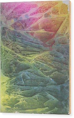Vaarn Wood Print by Jackie Mueller-Jones