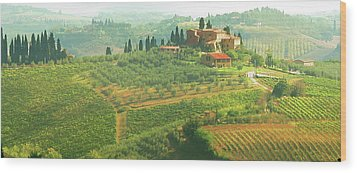 Val D'orcia Jewel Of Tuscany Wood Print