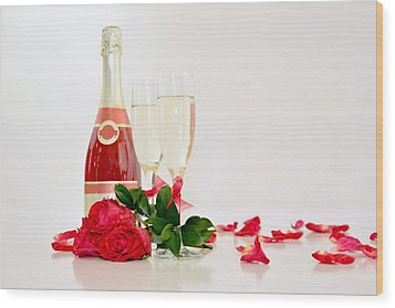 Valentine's Display Wood Print