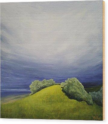 Valle Vista Meadow Wood Print