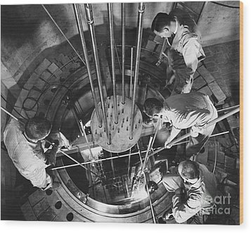 Vallecitos Nuclear Center, C. 1960 Wood Print by News Bureau, General Electric Company
