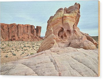 Wood Print featuring the photograph Valley Of Fire North by Ray Mathis