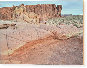 Wood Print featuring the photograph Valley Of Fire's North End by Ray Mathis