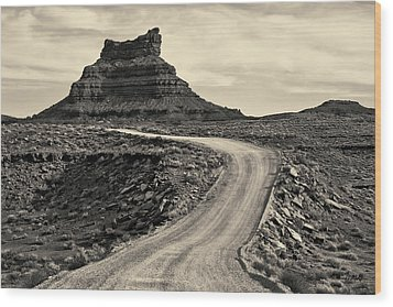 Wood Print featuring the photograph Valley Of The Gods IIi Toned by David Gordon