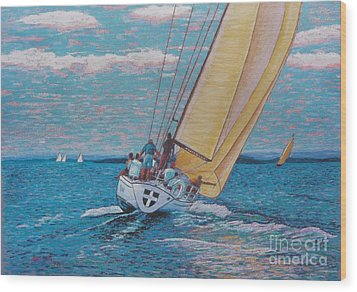 Valour -chester Race Week Wood Print