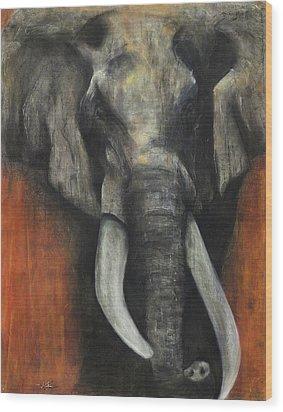 Valour Wood Print by Kristin Guttridge