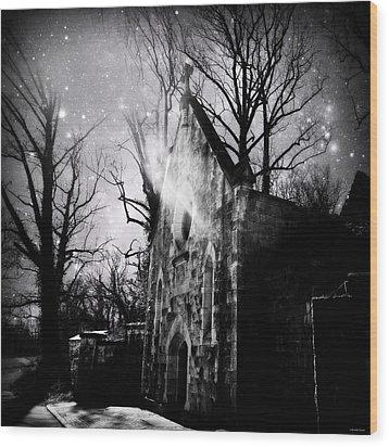 Vampiric Tendencies Wood Print