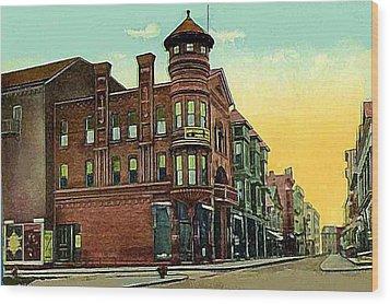 Van Curler Opera House In Schenectady N Y 1910 Wood Print