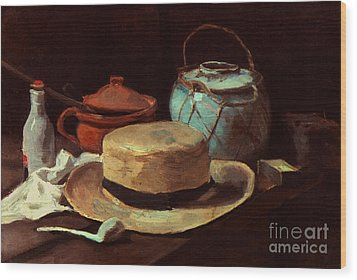 Van Gogh: Still Life, 1885 Wood Print by Granger