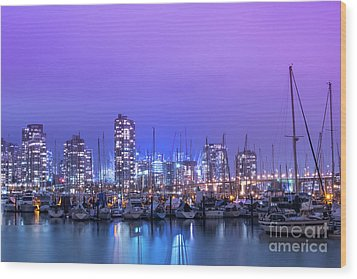 Wood Print featuring the photograph Vancouver by Juli Scalzi