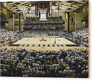 Vanderbilt Commodores Memorial Gym Wood Print by Replay Photos