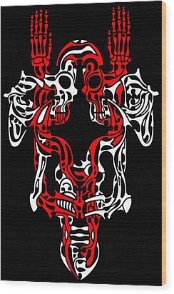 Vanity 1 Wood Print by David Umemoto