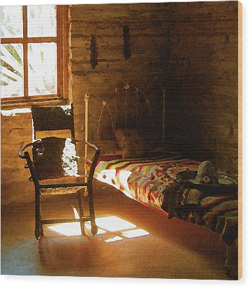 Vaquero's Room Wood Print by Timothy Bulone