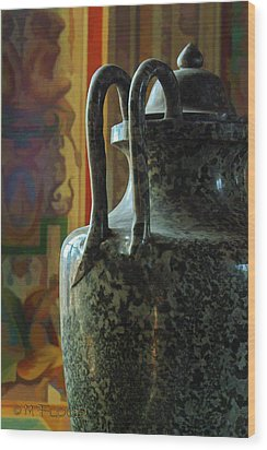 Vatican Ancient Jar Wood Print by Michael Flood
